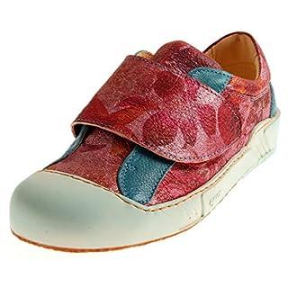 Eject 15625 Damen Low-Top Sneaker Lederschuhe Schuhe Halbschuhe Wechselfußbett Mehrfarbig EU 38