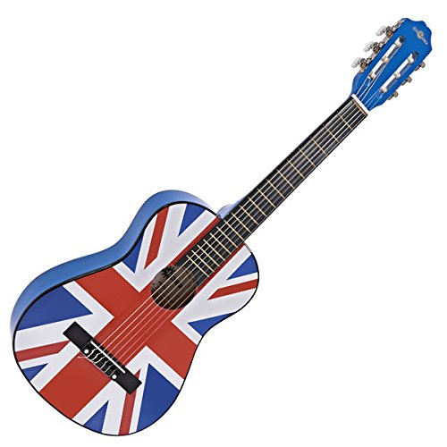 Guitarra Española Junior 1/2 de Gear4music - Union Jack