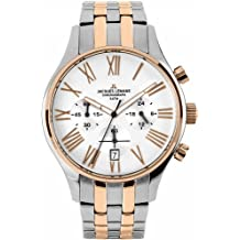 JACQUES LEMANS Capri 1-1605K - Reloj de caballero de cuarzo, correa de acero inoxidable color varios colores