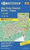 065 Alpi Giulie Orientali-Bohinj-Triglav 1:25 000 - Tabacco Editrice