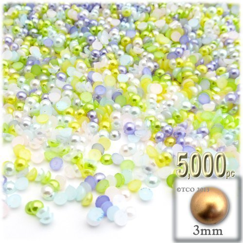 die-crafts-auslass-5000-pearl-finish-half-dome-runde-beads-3-mm-pastell-mix