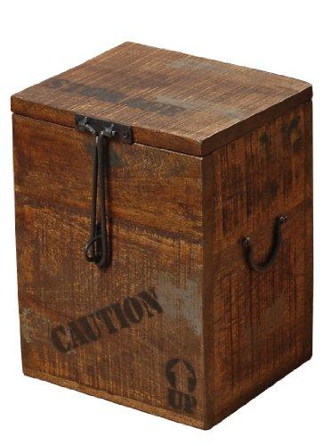 Kiste Flexo Aufbewahrungsbox Shabby Landhaus antik Holzkiste Vintage Box (Small)