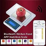 Best Scales Bluetooth - mark8shop Balance de cuisine numérique 5kg/1g Smart App Review