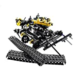 Bausteine gebraucht 1 x Lego Technic Teile Set Modell für Construction 8043 Raupen Bagger Gelb Motorized Excavator Ohne Funktion Incomplete unvollständig