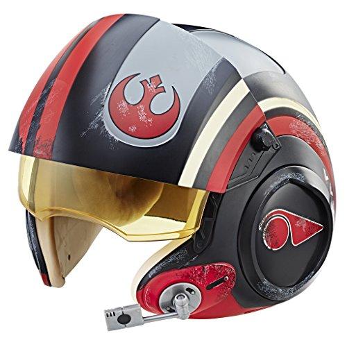 Star Wars c1441eu6der Serie schwarz PoE Dameron (Rebsorte) Electronic X-Wing Pilot Helm, eine Größe