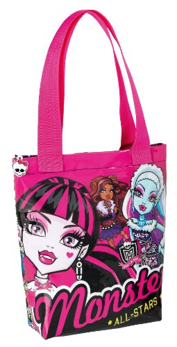 Monster High Einkaufstasche Shopping bag Shopper Handtasche Tasche 30x31 all stars (63)