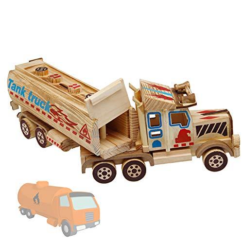 olz Spielzeugauto Desktop Dekoration Kinderspielzeug Basteln Dekoratives Zubehör, 38 * 7,5 cm ()