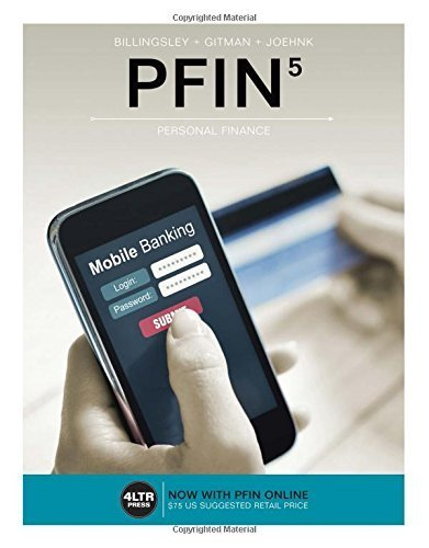 PFIN (with PFIN Online, 1 term (6 months) Printed Access Card) (New, Engaging Titles from 4LTR Press) by Randall Billingsley (2016-01-28)