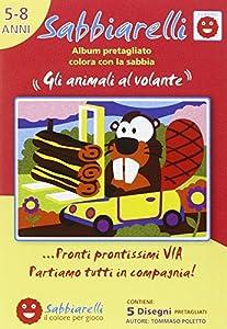 Sabbiarelli 100al0542-Álbum de los Animales al Volante