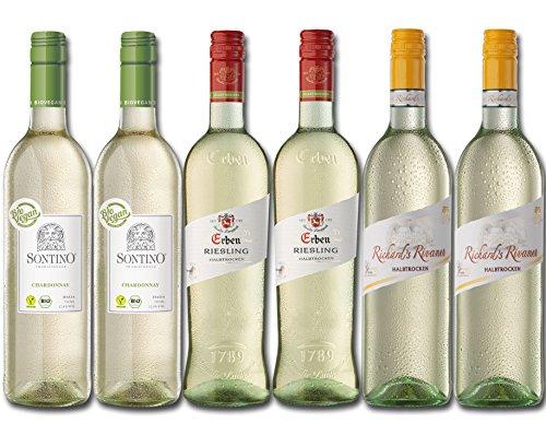 Langguth Erben Weißwein Probierpaket Halbtrocken (6 x 0.75 l)