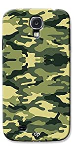 Digiprints Hard Pc Slimfit Lightweight Back Cover For Samsung Galaxy S4,Army Pattern Back Case Cover For Samsung Galaxy S4