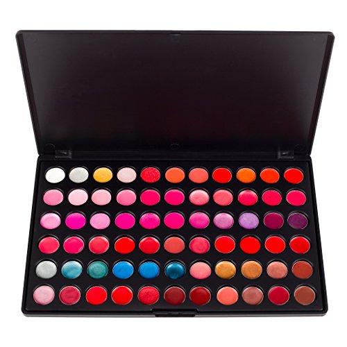 Coastal Scents - PL-010 - Palette à Maquillage - Rouge à Lèvres - 66 Couleurs pour les Lèvres