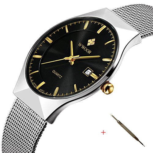 affute-fashion-mens-watch-mesh-band-japanese-analog-quartz-movt-thin-dial-date-wrist-watchesblack