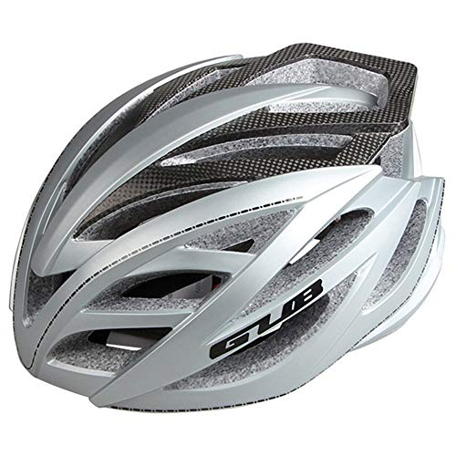 HTAA Fahrradhelm Carbon Fiber Mountain Road Sicherheits Reithut Ausrüstung (Color : B) (Mx-racing-ausrüstung)