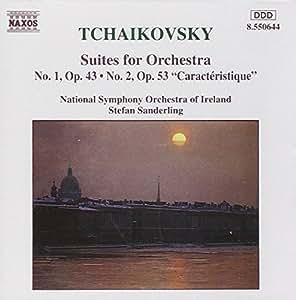Tschaikowsky: Orchester Suiten 1 und 2 Sand