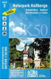 UK50-2 NP Haßberge 1:50 000 (UK50 Umgebungskarte 1:50000 Bayern Topographische Karte Freizeitkarte Wanderkarte)