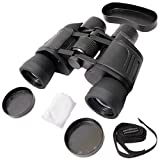 #9: Krevia 8x40mm Powerful Prism Binocular Telescope Outdoor With Pouch - Black
