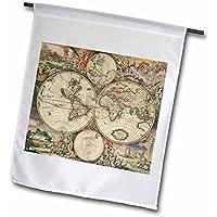Mappa del mondo 30,5x 45,7cm, decorativo double