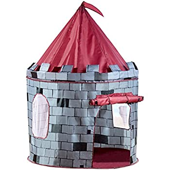 Charles Bentley Childrenu0027s Kids Pop up Boys Grey Knight Castle Play Tent Indoor Outdoor  sc 1 st  Amazon UK & Charles Bentley Childrenu0027s Kids Pop up Boys Grey Knight Castle ...