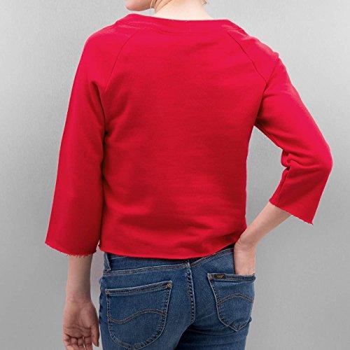 ONLY Damen Sweatshirt Rot