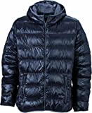 James & Nicholson Herren Jacke Daunenjacke Men's Down Jacket schwarz Small
