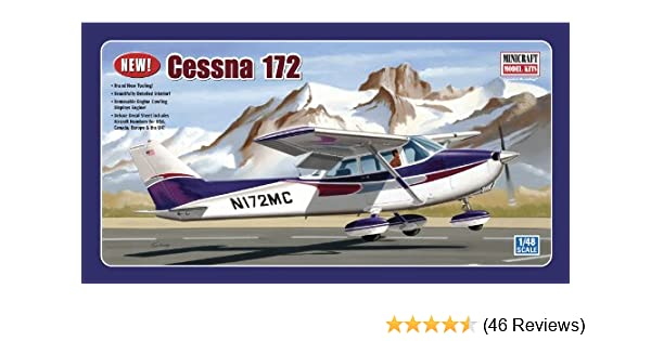 Minicraft 11686-1//48 Cessna 172 Neu