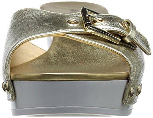Nine West Forchen scorrere sintetico Sandalo Light Gold