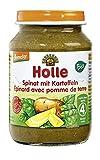 Holle Bio Spinat mit Kartoffeln (6 x 190 gr)