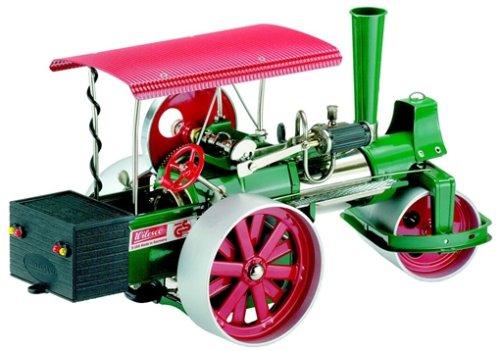 00395 - Wilesco D 395 - Dampfwalze, grün inklusive RC-Anlage