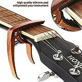 Kapodaster für Akustikgitarren mit Plektren von SMAtech - 3