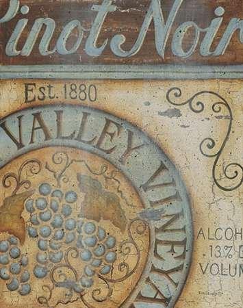 feelingathome. IT, Druck auf Leinwand 100% Baumwolle Galerie Valley Vineyard