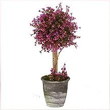Macetas de plantas artificiales VGIA, de plástico, flores para decoración del hogar, color