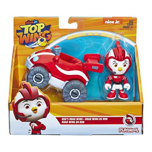Hasbro Top Wing–Rod Personaggio con Veicolo