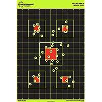 Paquete de 25 - Splatterburst 30,5 x 45,7cm Vista en Objetivo de Disparo - Vea fácilmente los Brillantes Agujeros de Bala Todas Las Armas de Fuego, Rifles, Pistolas, Rifles de Aire
