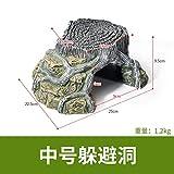 JRTAN&Pet cachettes Habitat Lézard Serpent Araignée Repaire UPC