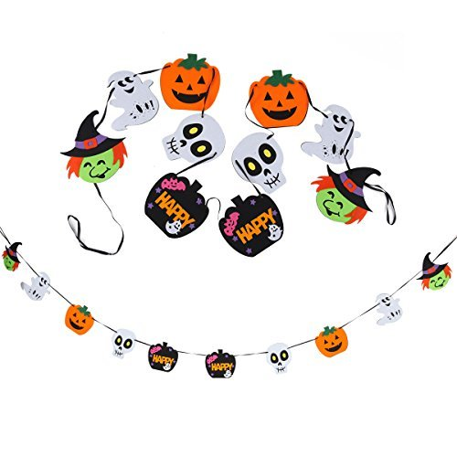 Foam Banner Garlands for Halloween Decorations Halloween Photo Booth by Spooktacular Creations