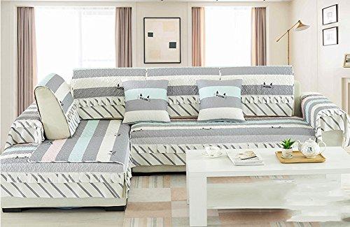 J&dssuk fodera per divano tessuto coperture,multi-dimensione antiscivolo resistente alle macchie divano componibile custodia mobili fodera per divano -1 pezzo-a 90x120cm(35x47inch)
