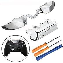 Parachoques Triggers LB RB botones frontal Amortiguador T8T6destornilladores Herramientas de Repuesto para mando de Xbox One Elite
