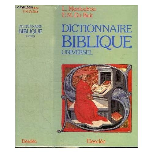 Dictionnaire biblique universel