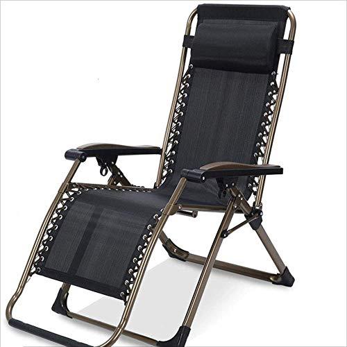 Willsego sdraiato sedia/sedia pieghevole metallo portatile multi-funzione letto pieghevole con braccioli moderna chair designer casual per pausa pranzo casa balcone