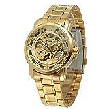 GT Gala Time Skeleton Mechanical AutomaticAnalog Silver Dial Men's Watch MECH30