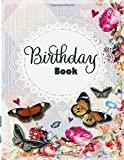 RHS Birthday Book: Birthdays Anniversaries Events & Special Dates: Perpetual Calendar Book, Dates and Events to Remember Journal, Gift