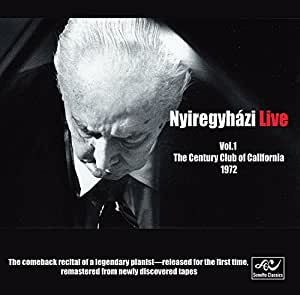 Nyiregyházi Live, Vol. 1: The Century Club of California, 1972