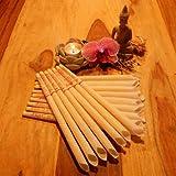 16 velas para oído (8 juegos de 2 unidades) - 23 cm – Fragancias: Bergamota - forma de trompeta