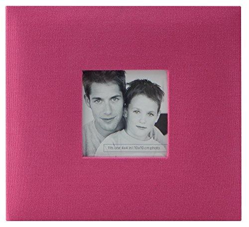 MCS MBI Scrapbook aus Stoff, 20,3 x 20,3 cm, Schwarz 8