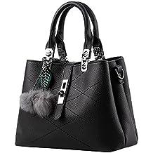 9ec6ed51e19d2 Baymate Damen Handtaschen Designer Umhängetaschen Kunstleder Berühmtheit  Stil Mode Large Tote