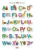 Fragenbär-Lernposter: Mein erstes ABC der Tiere, L 70 x 100 cm: Gerollt, matt folienbeschichtet, abwischbar (Lerne mehr mit Fragenbär)