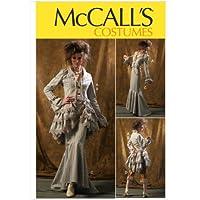 McCall's M6770 - Patrón de costura para confeccionar disfraces de mujer de estilo vintage