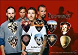 from Classic Rock Guitar Godsmack Guitar Pick Display Limited 100 Only