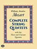 Complete String Quintets With Horn & Clarinet 5Tets K. 174, 388, 406, 407, 515, 516, 581, 593 and 614, Breitkopf & Härt